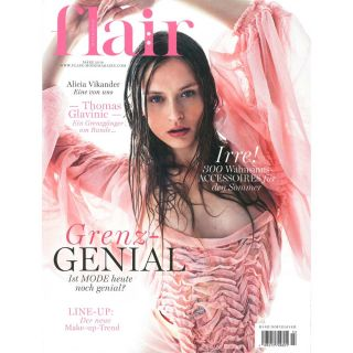 http://www.flair-magazin.de|Flair Cover March 2018