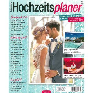 https://www.braut.de|Hochzeitsplaner 04/18 Cover