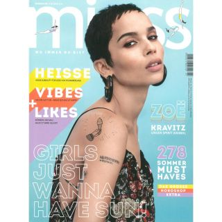 http://www.miss.at|Summer Issue 2018 Cover