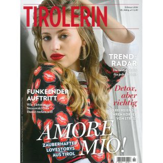 http://www.tirolerin.at| Tirolerin Cover February 2018