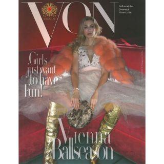 http://www.vonmagazine.com|VON Winter 2018 Cover