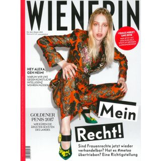 http://wienerin.at|Wienerin Cover January 2018