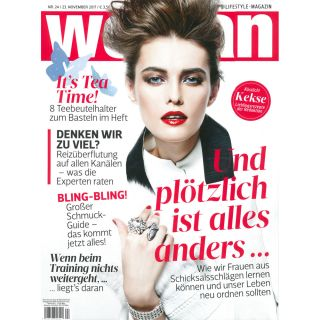 https://www.woman.at|Cover Woman November 2017